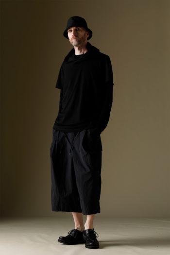 DEVOA Short Sleeve Hooded Sweater 6