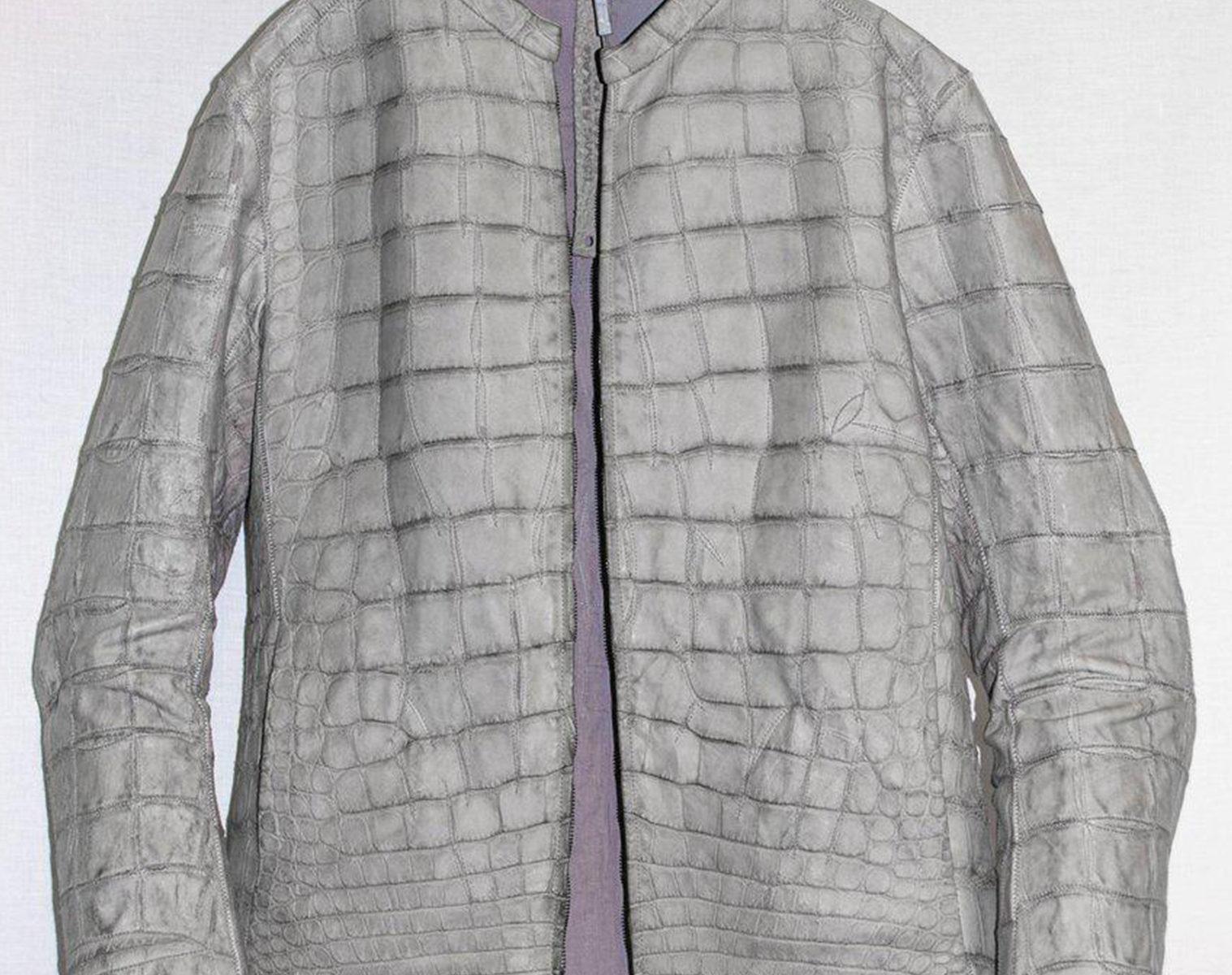 ISAAC SELLAM Alligator Leather Jacket 1