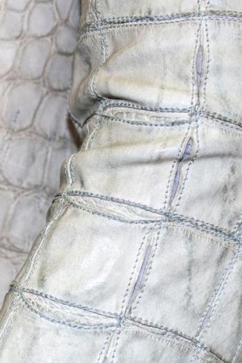 ISAAC SELLAM Alligator Leather Jacket 2