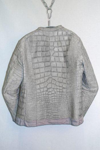 ISAAC SELLAM Alligator Leather Jacket 3
