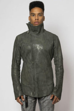 ISAAC SELLAM Fencing Leather Jacket 1
