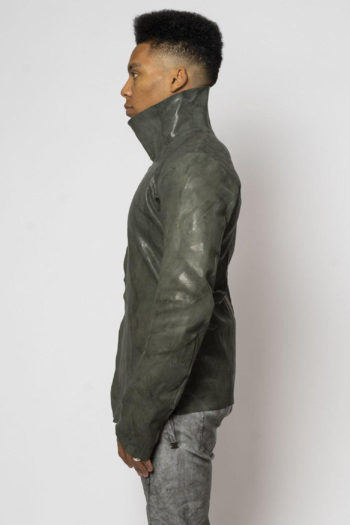 ISAAC SELLAM Fencing Leather Jacket 3