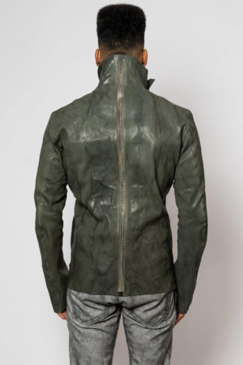 ISAAC SELLAM Fencing Leather Jacket 4