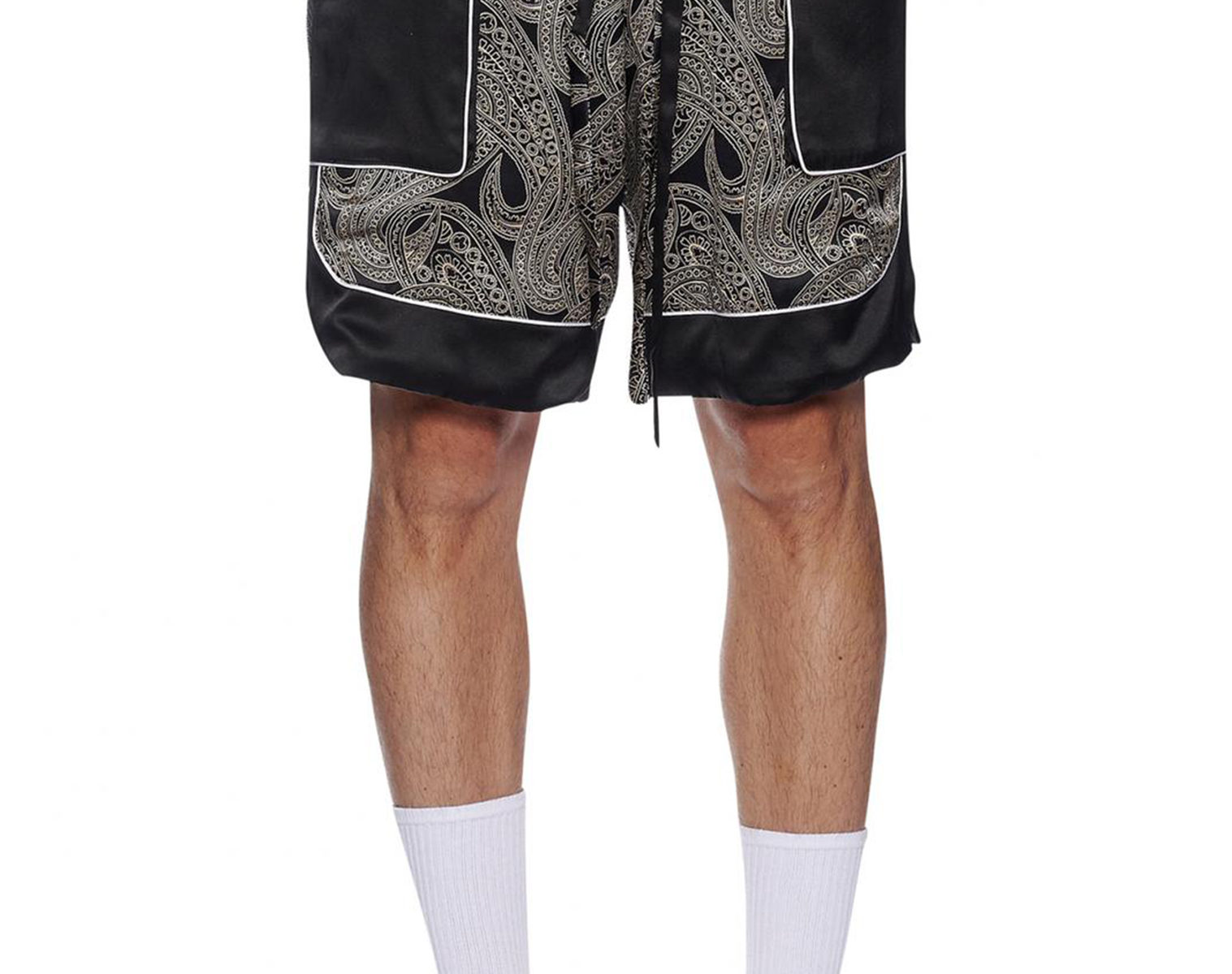 NAHMIAS Silk Courtside Shorts 1