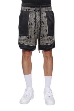 NAHMIAS Silk Courtside Shorts 1