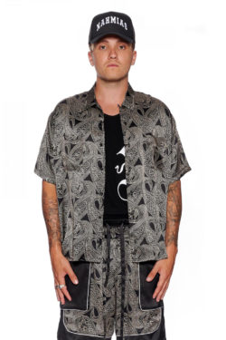 NAHMIAS Silk Paisley Shirt 1