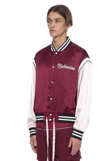 NAHMIAS Silk Varsity Jacket 2