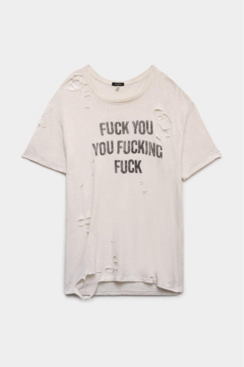 R13 F U Ripped Boy T Shirt 1