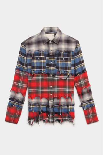 R13 Pieced Shirt 1 1
