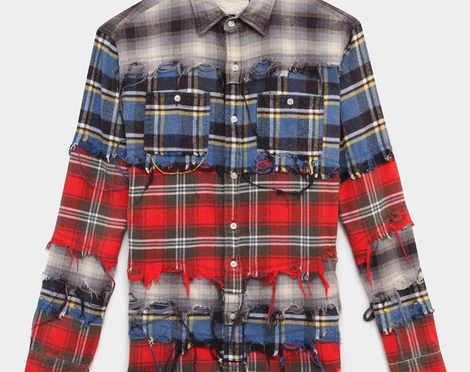 R13 Pieced Shirt 1