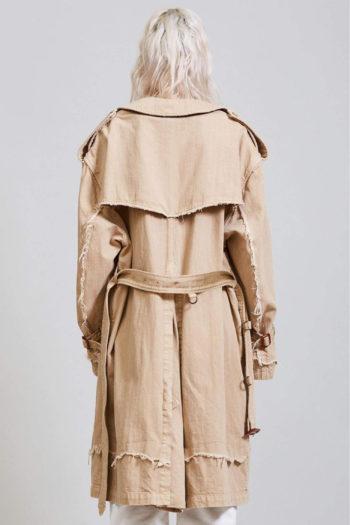 R13 Shredded Trench Coat 4 1