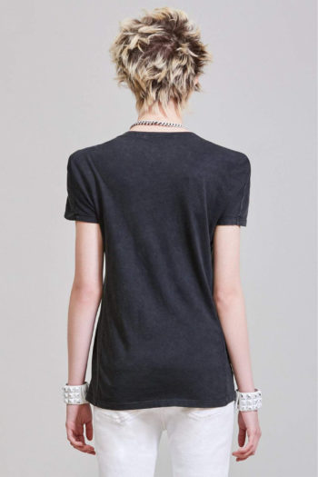 R13 Square Shoulder T Shirt W Detachable Shoulder Pads 4