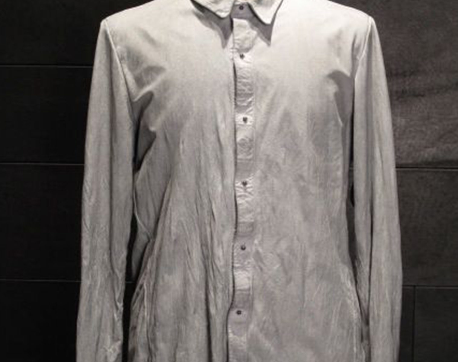 ISAAC SELLAM Exclusive Leather Shirt 1