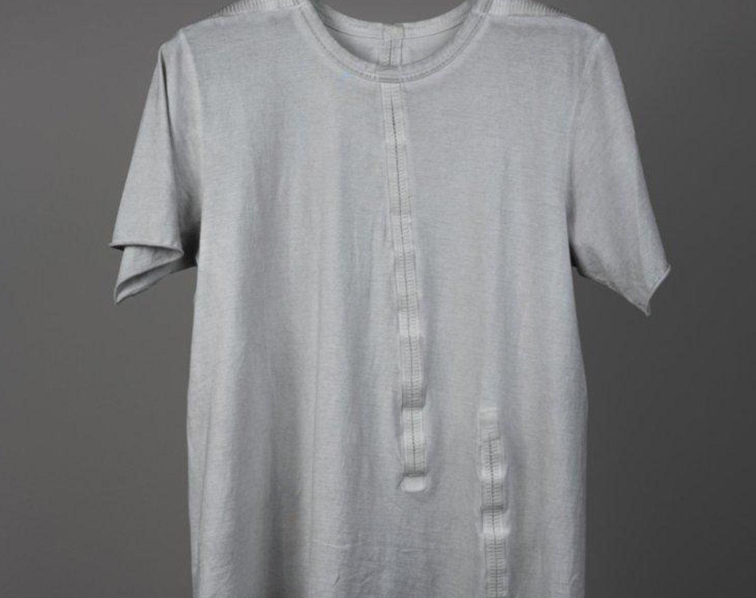 ISAAC SELLAM T Shirt Seam Taped 1